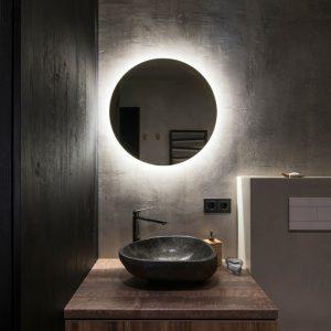 White-LED Bathroom Mirror